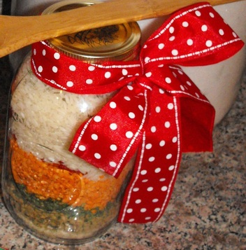 Lentils- a tasty legume that is perfect for soup. Easy recipe to give or make