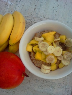 Tropical Awesome Oatmeal