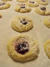 Cranberry Thumbprint Cookies