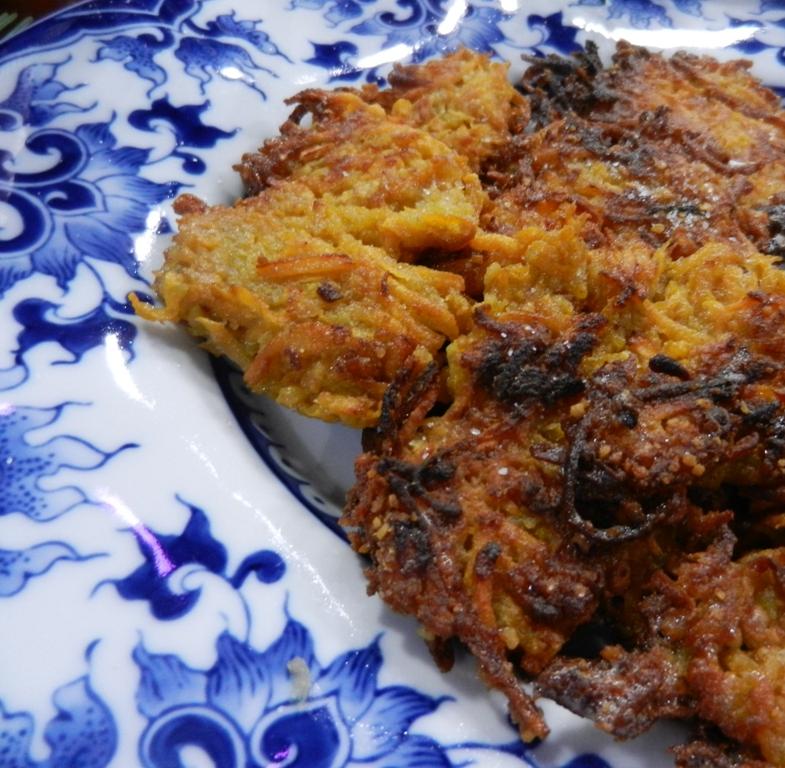 Sweet Potato Latkes Recipe Sweet Potato Latkes