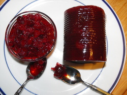 cranberry sauce, canned berry sauce, whole berry cranberry sauce