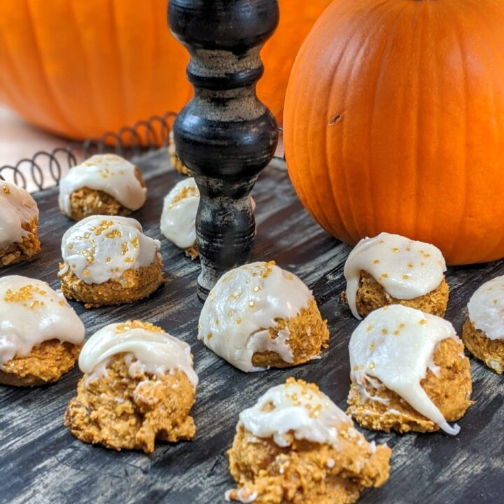 Pumpkin Cookies with Brown Butter Glaze